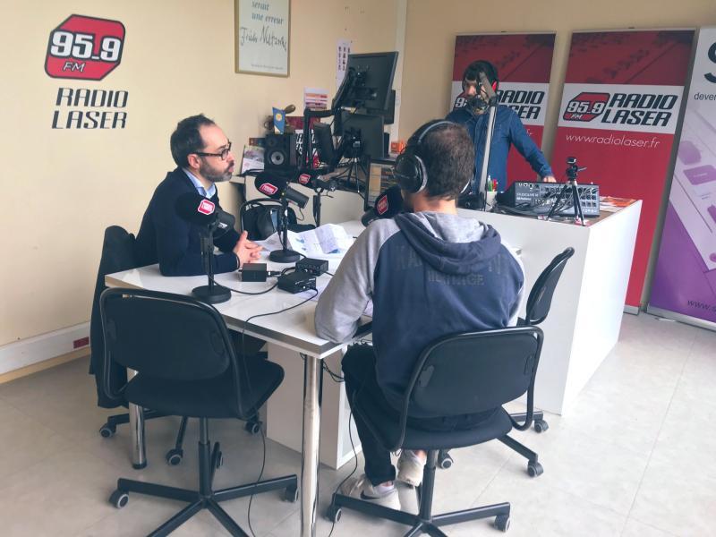 Radio Laser Yannick Bigot
